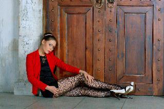 Irina: High heels? But of course!