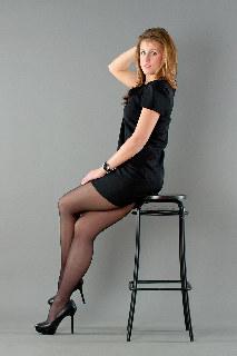 Black style of Anya