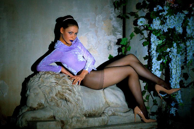 Model: Irina Platonova, Photographer: Kostya Romantikov