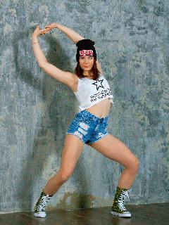 Nata: teenage dancer