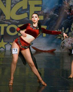 XVI WDO: Latina solo style dance