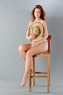 Anya Bo, in studio by Kostya Romantikov